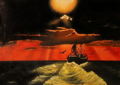 Mare Adriatico Tramonto - 1977